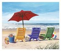 Beachy Keen Fine Art Print