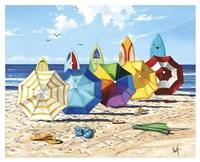 Brellas & Boards Fine Art Print