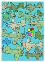 Odd Ones - Balloons Fine Art Print