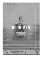 The Good Man Fine Art Print