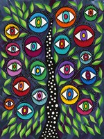 Evil Eye Tree II Fine Art Print