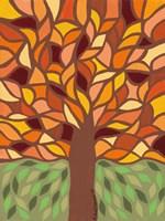 Tree of Life - Orange Fine Art Print