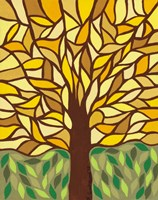 Tree of Life - Yellow Fine Art Print