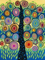 Pastel Tree of Life Fine Art Print
