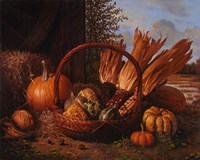 Autumn Cornucopia Fine Art Print