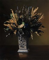 Dry Flower Bouquet Fine Art Print