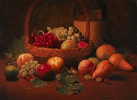 Fruit Basket Still LIfe Fine Art Print