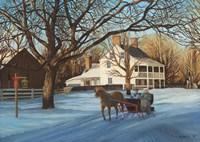 Memories of Christmas Past Fine Art Print