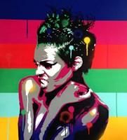 Afro Punk 1 Fine Art Print