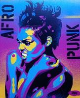 Afro Punk 2 Fine Art Print