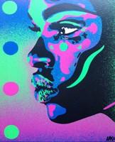 Kiss Series 2 Spots Fine Art Print