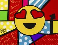 Emoji Smiley Face Fine Art Print
