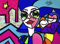 Big Eye Girl Fine Art Print