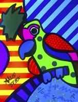 Tropical Parrot Fine Art Print