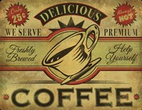 Coffee Sign Fine Art Print