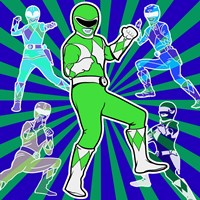 Power Ranger 1 Fine Art Print