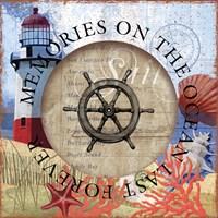 Circled Lighthouse 1 Fine Art Print