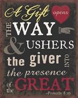 The Gift 2 Framed Print