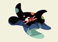 Ocean Roaming Fine Art Print