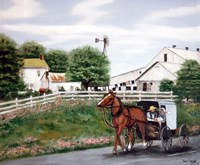 Amish Country 1 Fine Art Print