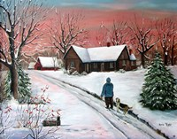 Morning Red Fine Art Print