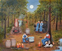 Moonshine Run Fine Art Print