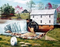 Murray's Mill in the Spring Fine Art Print