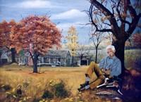 Grandpa Fine Art Print