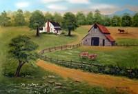 The Farm Fine Art Print