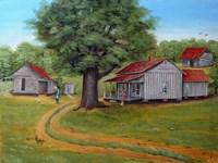 The NB Bass Home Fine Art Print
