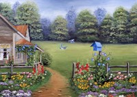 Bluebird House Fine Art Print