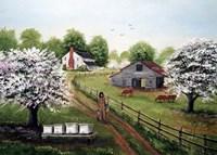 The Beekeeper Fine Art Print