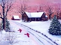 Red Dawn Fine Art Print