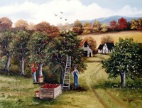 The Apple Orchard Fine Art Print