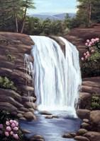 Blue Ridge Waterfall Fine Art Print