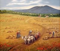 Mountain View Fine Art Print