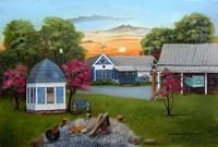 Baker's Country Home Fine Art Print