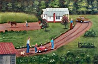 The Hildebran Farm Fine Art Print