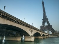 Eiffel from Bridge Fine Art Print