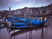 Blue Gondolas 2 Fine Art Print