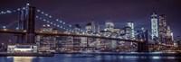 New York at Night Fine Art Print