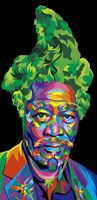 Morgan Freeman Fine Art Print