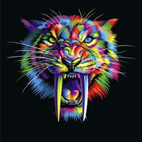 Sabertooth Fine Art Print