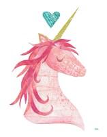 Unicorn Magic I Heart Fine Art Print