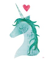 Unicorn Magic II Heart Fine Art Print