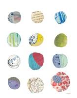 Geometric Collage III Fine Art Print