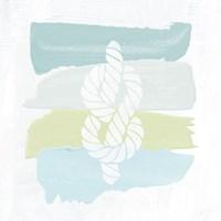 Seaside Swatch Knot Fine Art Print
