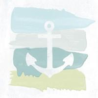 Seaside Swatch Anchor Fine Art Print