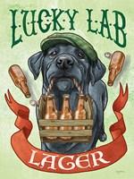 Beer Dogs V Fine Art Print