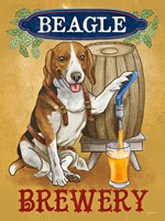 Beer Dogs IV Fine Art Print
